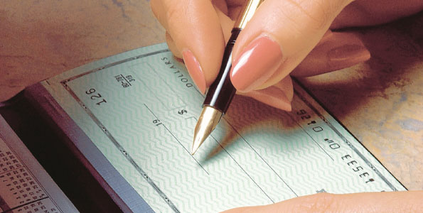 Clear Bank Cheque For Your Cheque to Clear